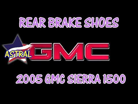 ⭐ 2005 GMC Sierra 1500 - 5.3 - Rear Brake Shoes
