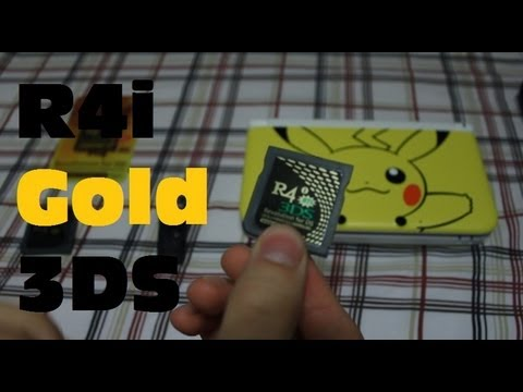 R4i Gold 3DS Flashcart Review!