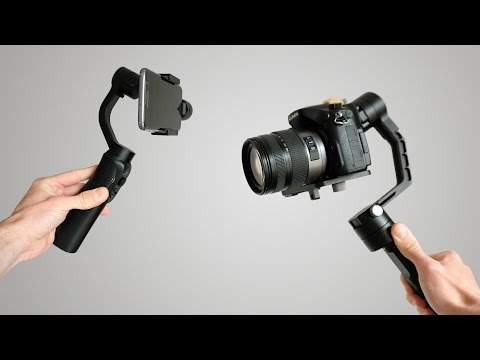Camera Gimbals - how good are they? Review of the Zhiyun Crane & Smooth Q