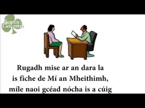 Leaving Certificate Irish Oral Introduction Example