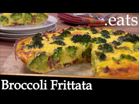 Broccoli Frittata Recipe - Chef Micheal Smith