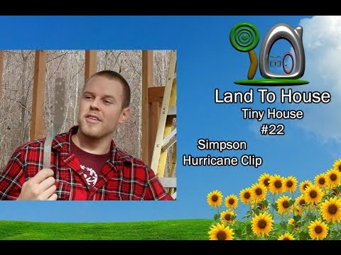 Tiny House 22 - Simpson Strong Tie Hurricane Clip