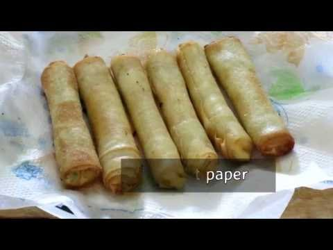 Cheese Corn Rolls | Instant Party Snack|