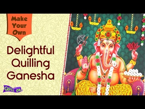 Make Your Own Quilling Ganesha