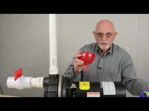 Priming a Lawn Sprinkler Pump