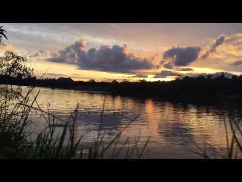 Sacramento Sunset Time Lapse Lake Natoma FEB 2017