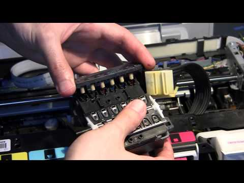 HP Photosmart C5180 - Disassembly & Head Cleaning