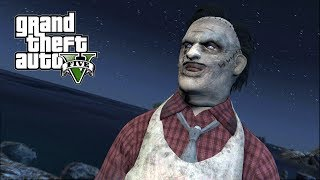 LEATHERFACE ATTACKED US!!! GTA 5 HALLOWEEN SPECIAL SURVIVAL MOD