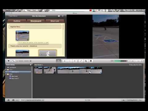 iMovie Trailer Demo