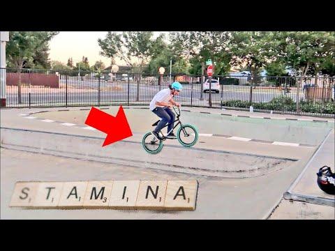 HOW TO BUILD STAMINA RIDING BMX!