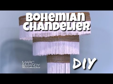 DIY Chandelier I Cheap and Easy