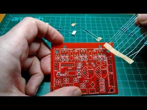 Electronics DIY kit 2.1 subwoofer kit - first components