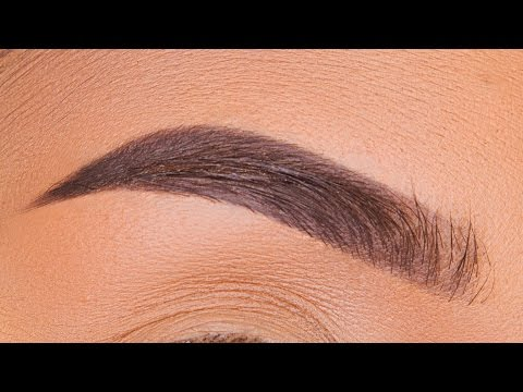 No concealer EYEBROW TUTORIAL chit chat | CookieChipIry