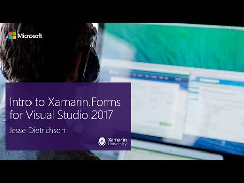 Intro to Xamarin.Forms for Visual Studio 2017