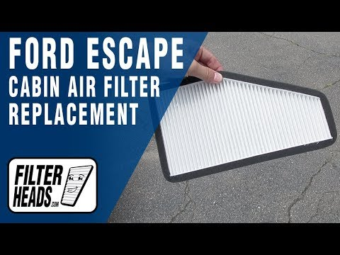 How to Replace Cabin Air Filter 2011 Ford Escape