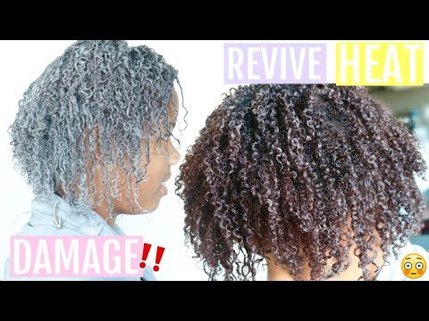 THIS CHANGED HER NATURAL HAIR! // Best Hair Mask for Damaged Hair | BENTONITE CLAY MASK