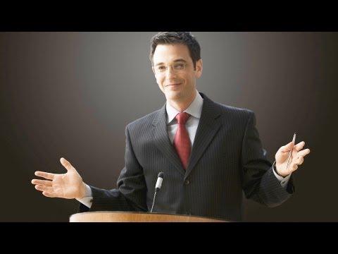 How to Open a Speech | Public Speaking