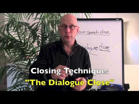 How to write a speech: speech closing technique