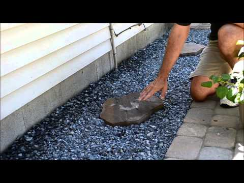 Paver Stone Walkway Accent Piece Video