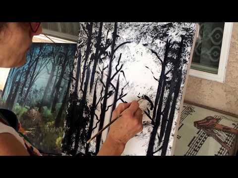 How to Paint a Forest Landscape