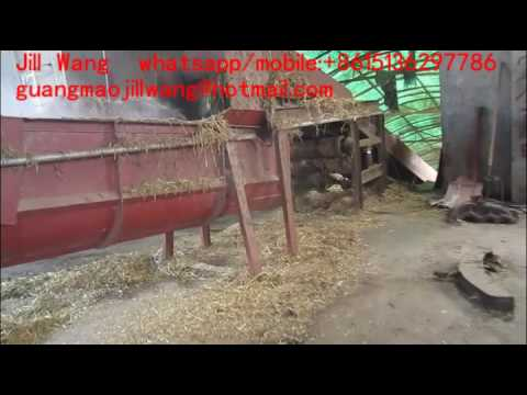 How to process wheat straw/rice straw into paper? wheat straw paper pulp recycling machine