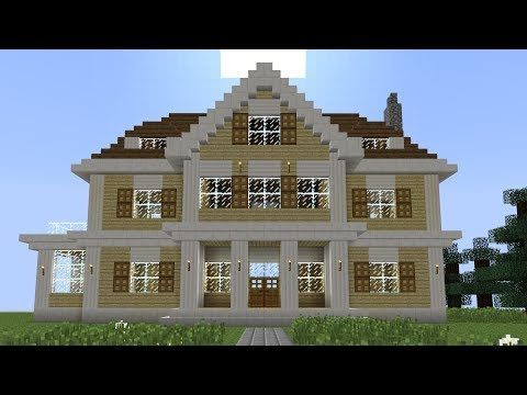 Minecraft - How to build a huge mansion