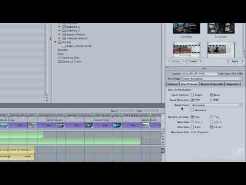 DVD Authoring in DVD Studio Pro