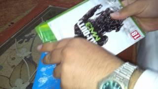 فتح علبة Call of Duty : MW3