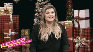 Kelly Clarkson Reveals her Plans for 2018