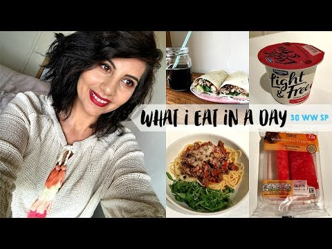 What I Eat In A Day Using 30 Daily Weight Watchers Smart Points #1