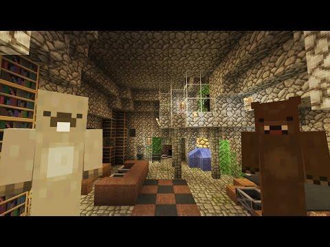 Minecraft Xbox Lets Play - Lemur Lagoon Adventures - The Bear's Den  [44]