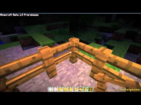 Minecraft Basics: How to Build a Fence, Table, and Lamp Post