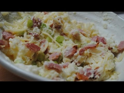 BACON BAKED POTATO SALAD - Student Recipe