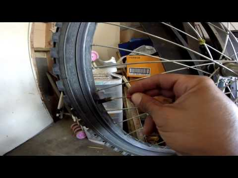 Remove a valve stem core without the tool & flat repair
