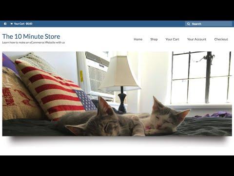 Make a WordPress eCommerce Website (Online Store) in Under 1 Hour!