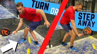 When To Turn And When Not #PADELTIPS
