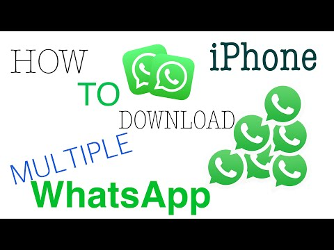 How to Download 2 (Two) WhatsApp in iPhone for FREE (No jailbreak/No PC or Mac)