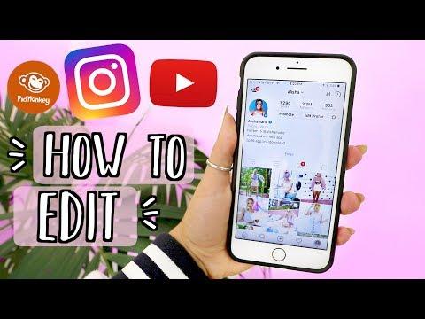How I Edit My Instagram Pictures / Youtube Thumbnails!! AlishaMarieVlogs