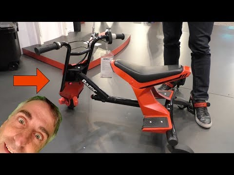 Razor Drift Rider Electric Scooter with 3D Steering - FIRST LOOK