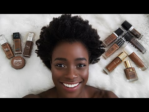 MY FOUNDATION COLLECTION  FOR OILY DARK SKIN