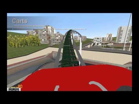 Mitchel Built a Roller Coaster on Garry's Mod!