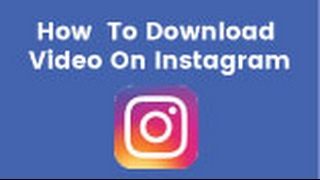 How to download / save video from Instagram on PC  (2017 / 2018)