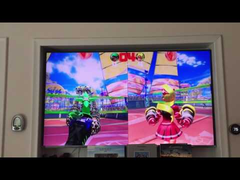 Nintendo Switch Arms Review