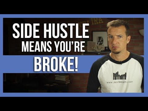Americans are fascinated by a side hustle because they are broke.