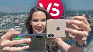 iPhone XS Max vs. Note 10 Plus camera comparison