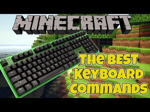 Minecraft: Keyboard Commands (Change Time, Change Gamemode, & Turn Off Rain)