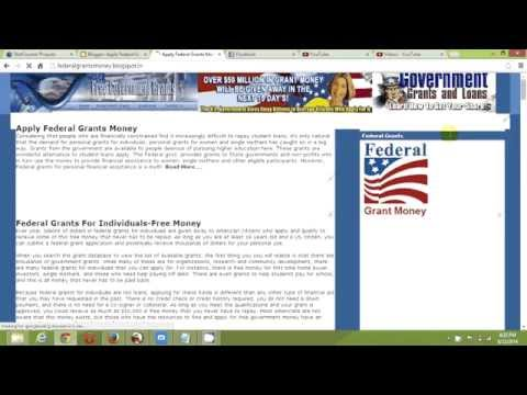 Free Federal Government Grants-Government Grant Money Approved