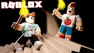 Roblox Adventures - CLIMB THE SCARY HORROR STAIRS IN ROBLOX! (The Stairs)