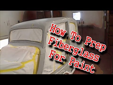 Painting A Fiberglass Kit Car - How To Prep A Car For Paint!