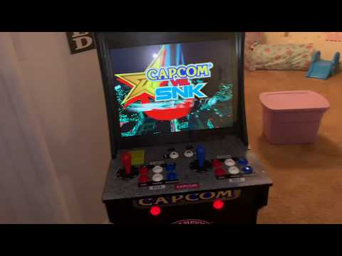 Arcade1UP Authentic Capcom vs SNK Sega Naomi - PakVim net HD
